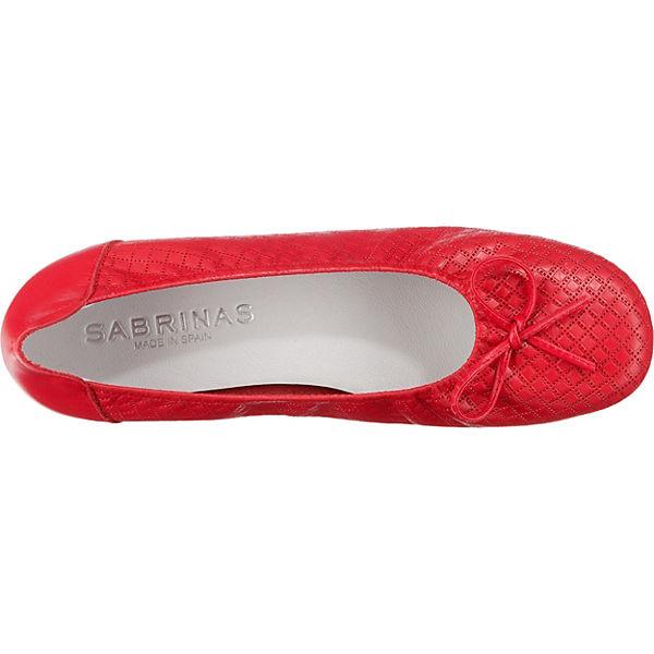 SABRINAS Ballerinas CITY Ballerinas Klassische SABRINAS SABRINAS Klassische rot CITY rot T6vqPT