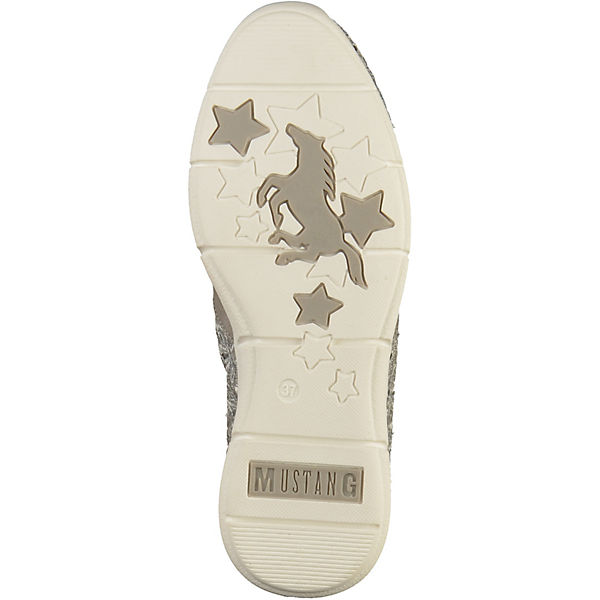 grau Low Sneakers MUSTANG Sneakers MUSTANG txTInqRw
