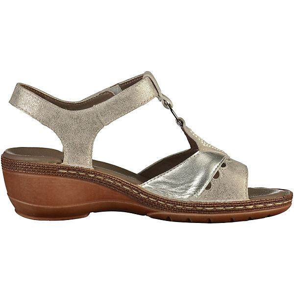 ara,  Klassische Sandaletten, silber   ara, 3a378b