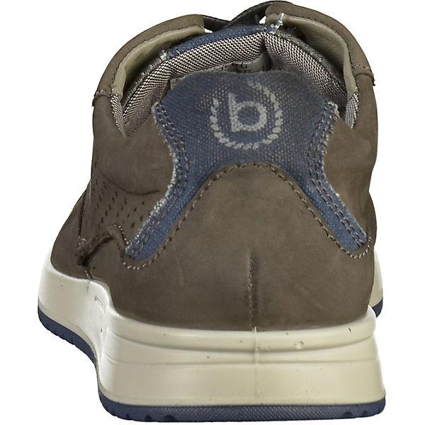 bugatti, Sneakers Low, dunkelgrau dunkelgrau Low,   13ab0b