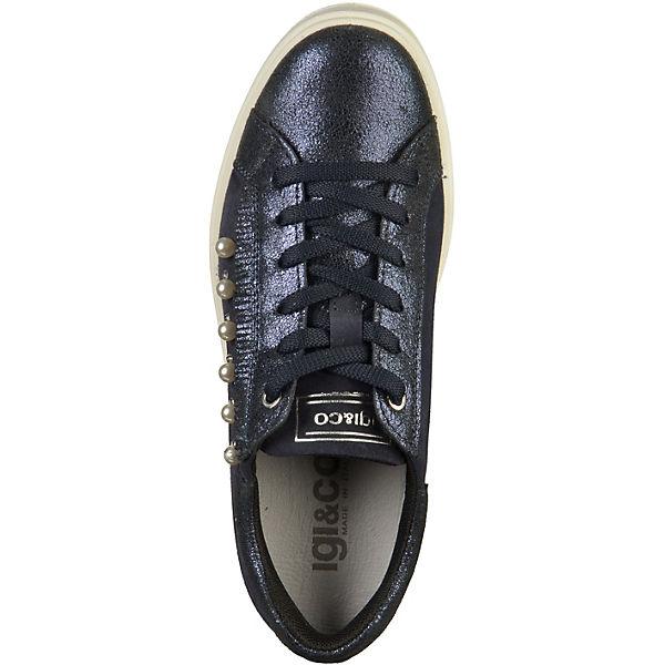 IGI & CO,  Sneakers Low, dunkelblau   CO, 1716de