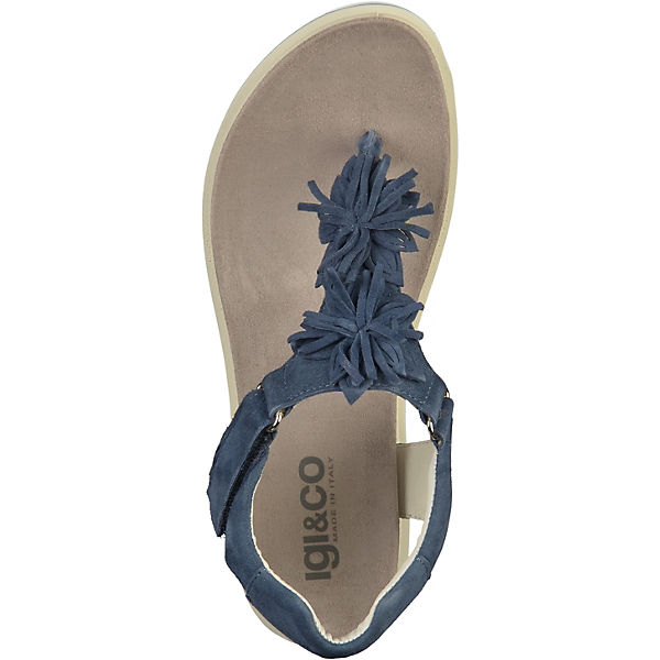 IGI blau & CO, Klassische Sandalen, blau IGI   0ad619