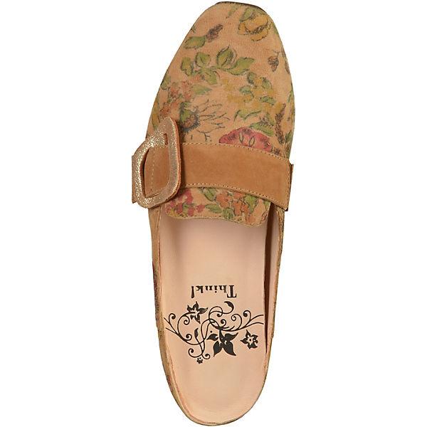 Think! Pantoletten Pantoletten Pantoletten braun  Gute Qualität beliebte Schuhe 516913
