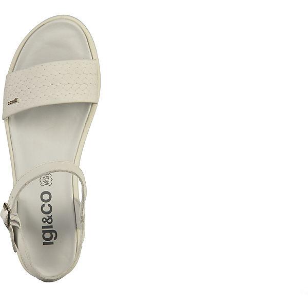 IGI & CO, Keilsandaletten, weiß Schuhe  Gute Qualität beliebte Schuhe weiß 771192