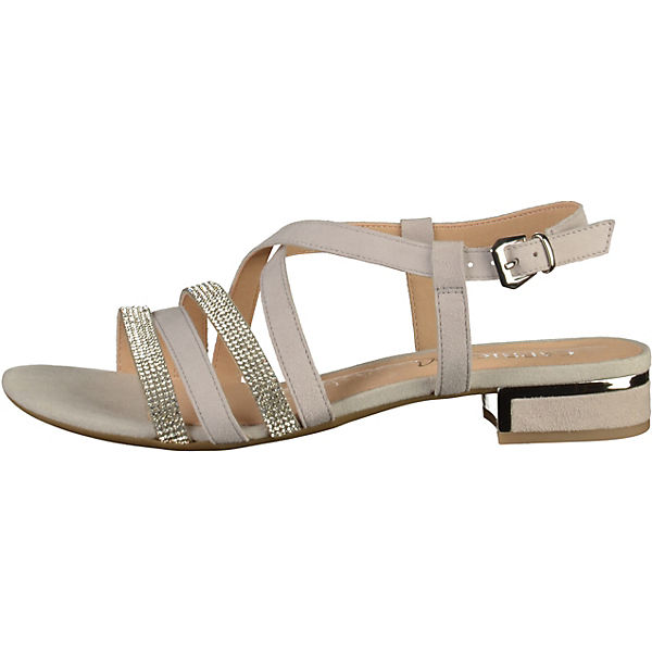 CAPRICE Riemchensandaletten hellgrau  Gute Qualität beliebte Schuhe