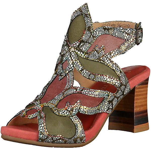 Laura Vita Klassische Sandaletten rot