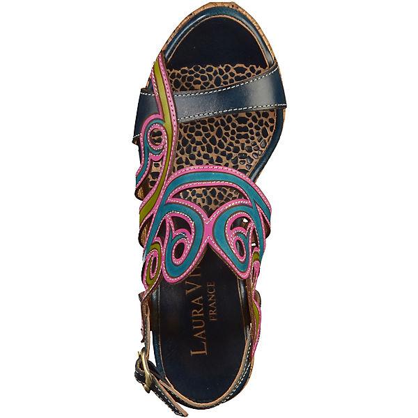 Laura Vita Klassische Sandaletten blau