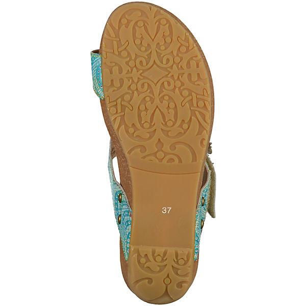 Laura Vita, Qualität Zehentrenner, türkis  Gute Qualität Vita, beliebte Schuhe b84a33