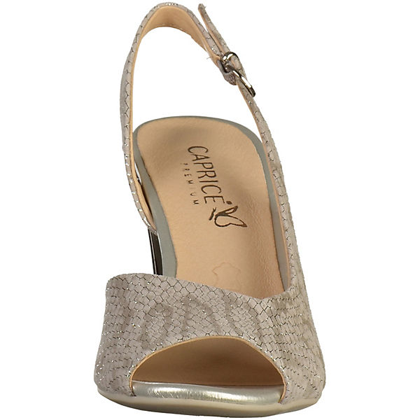 CAPRICE, Klassische Sandaletten, grau   grau  73e2d0