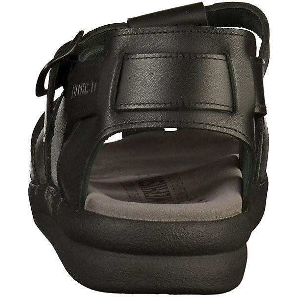 MEPHISTO Klassische Sandalen schwarz