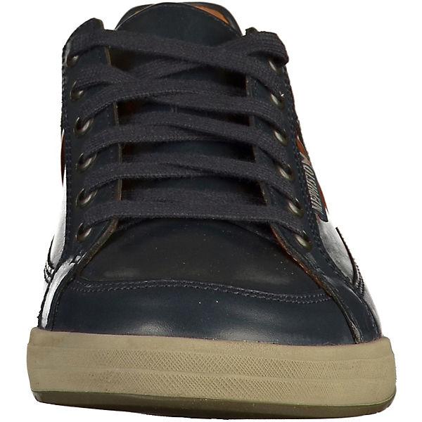 MEPHISTO Sneakers Low dunkelblau