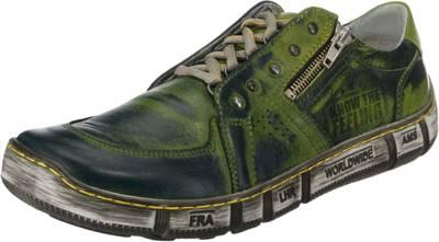 THWS Herrenschuhe Atmungsaktive Schuhe Sport und Freizeit, Grün 46