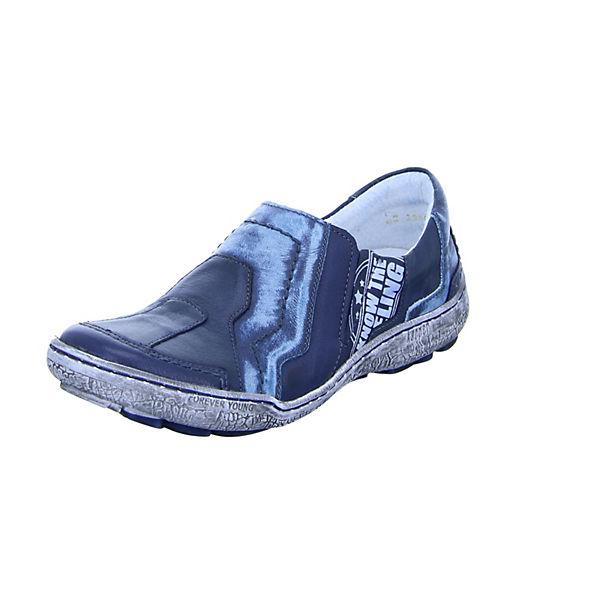 Kacper Sportliche 2 blau Slipper 3986 qwF7qARx6v