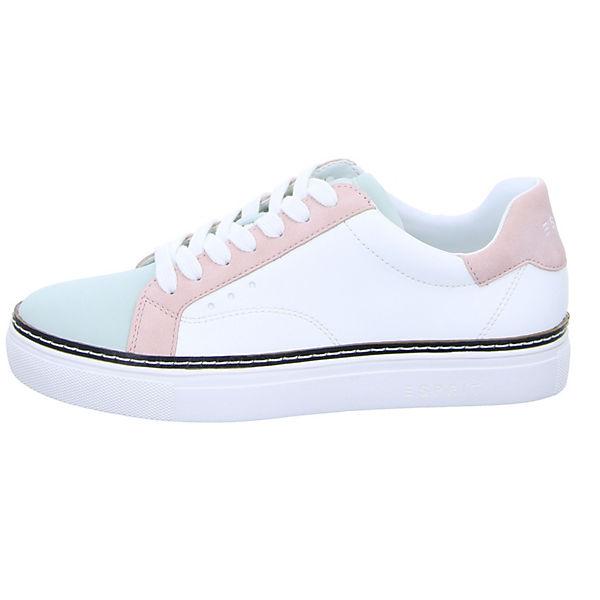 ESPRIT, 028EK1W039 Low, Sneakers Low, 028EK1W039 weiß   53c3d1