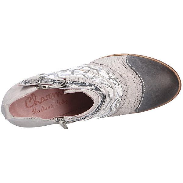 Charme Hochfront-Pumps grau  Gute Qualität beliebte Schuhe Schuhe Schuhe 6cf72a