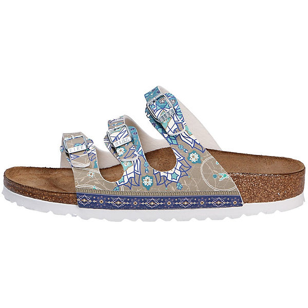 BIRKENSTOCK Komfort-Pantoletten grau  Gute Qualität beliebte Schuhe