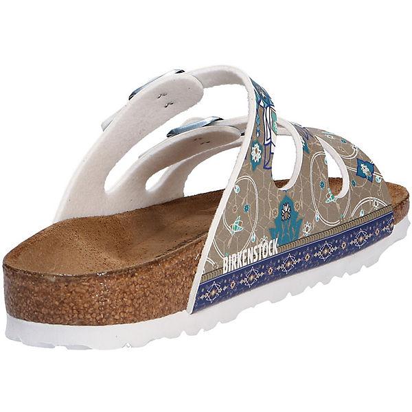 BIRKENSTOCK, Komfort-Pantoletten, grau Schuhe  Gute Qualität beliebte Schuhe grau d51f98