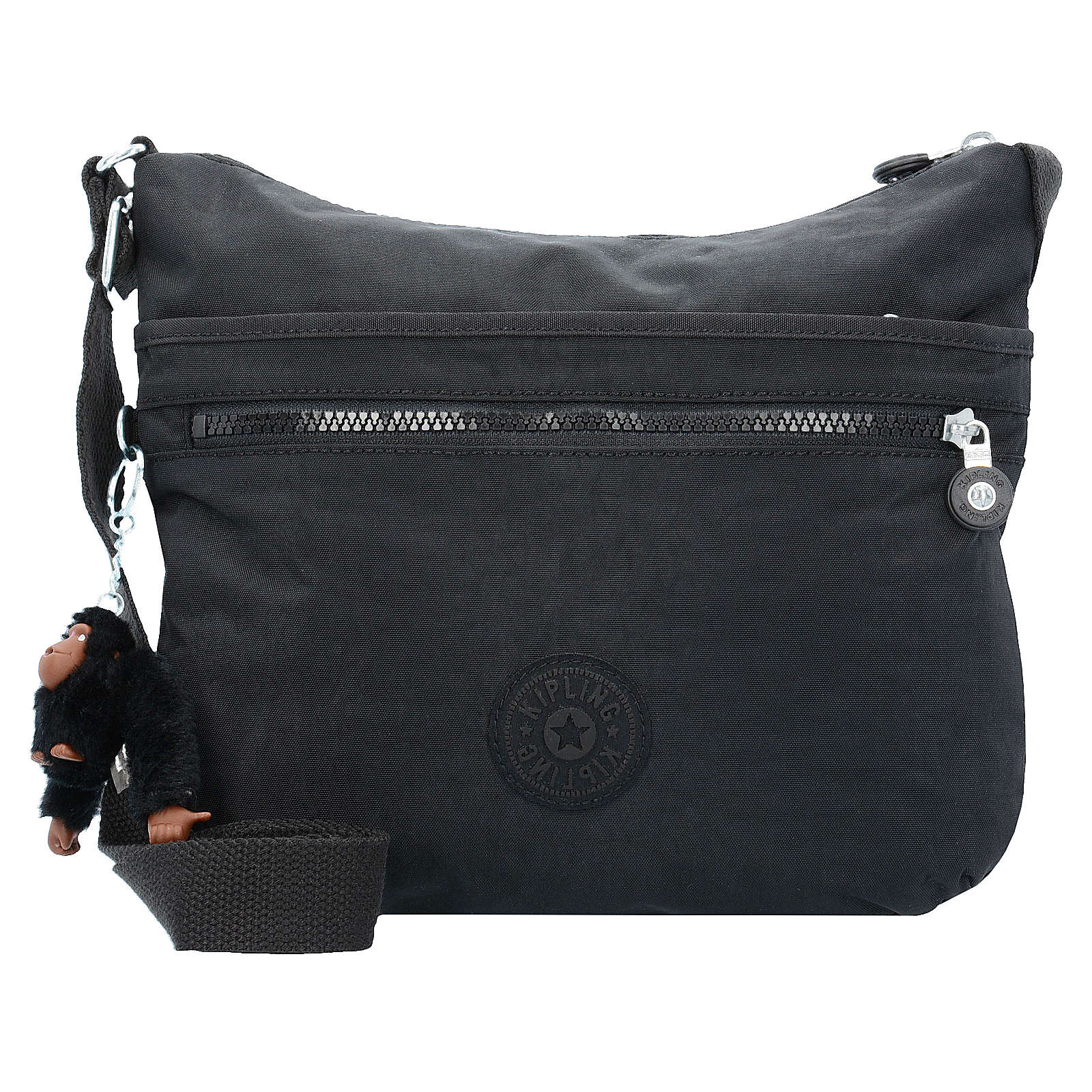 Kipling Basic Eyes Wide Open Arto Shoulderbag Tasche True Black Schwarz Neu