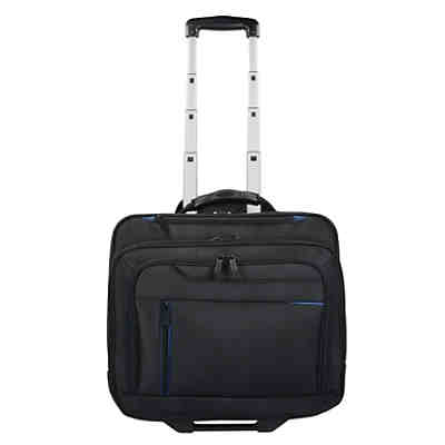 Dermata 2-Rollen Businesstrolley 42  cm Laptopfach Business Trolleys