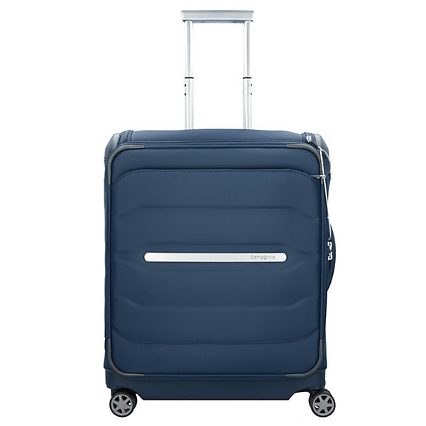 Samsonite Flux Soft Upright Toppocket 56 cm Trolleys blau
