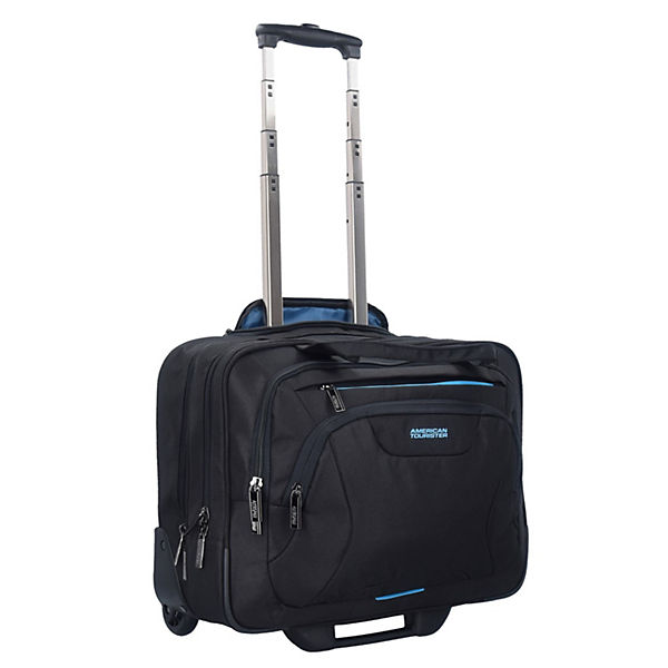 American Tourister AT Work 44 cm Business Trolleys schwarz