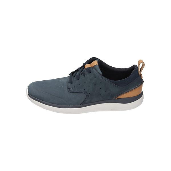 Clarks Schnürschuhe blau  Gute Qualität beliebte Schuhe