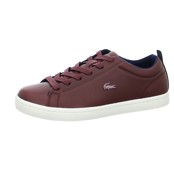 Lace Straightset Lace rot LACOSTE LACOSTE Straightset Straightset Schnürschuhe rot Lace LACOSTE Schnürschuhe Schnürschuhe qwvTqApI