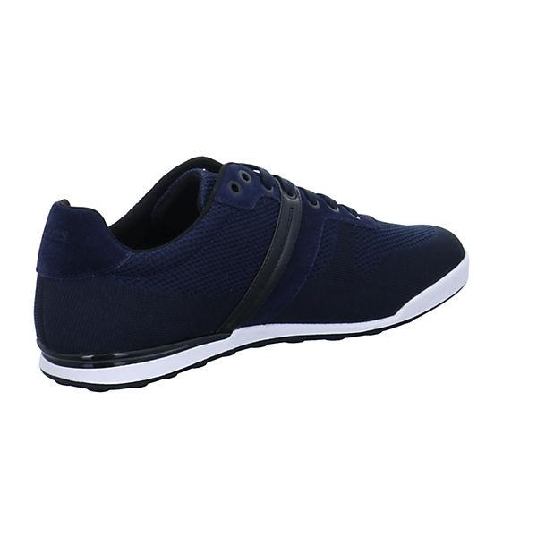 Hugo blau Boss, ARKANSAS Sneakers Low, blau Hugo   b4f99e