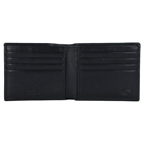 Bric's Monte Rosa RFID Portemonnaies schwarz