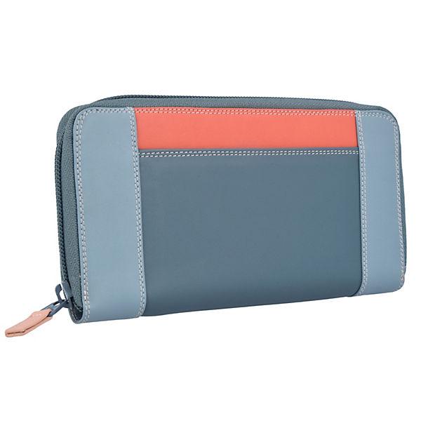 Mywalit Zip Around II Portemonnaies blau