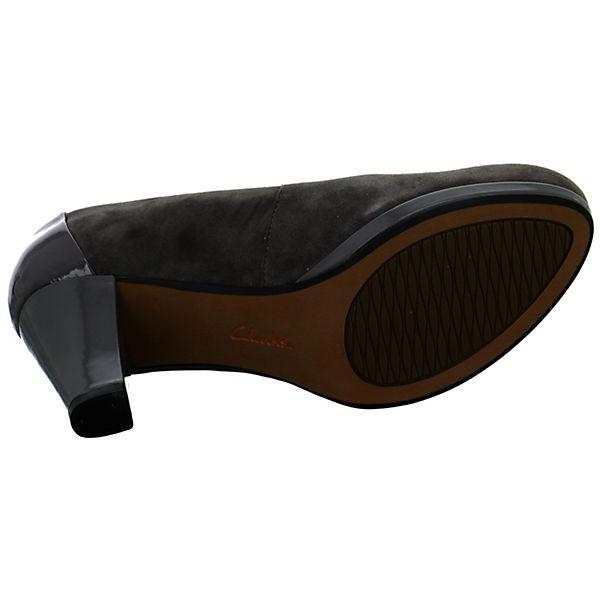 Clarks, Chorus grau Carol  Klassische Pumps, grau Chorus  Gute Qualität beliebte Schuhe fd7e7e