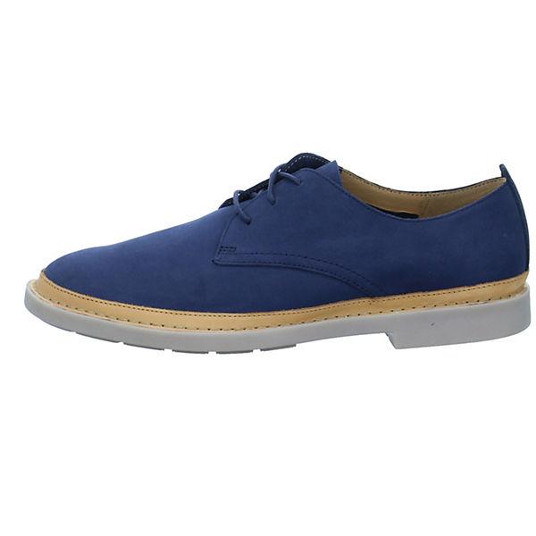 Trace blau Tailor Halbschuhe Clarks Klassische Yx1qUPq