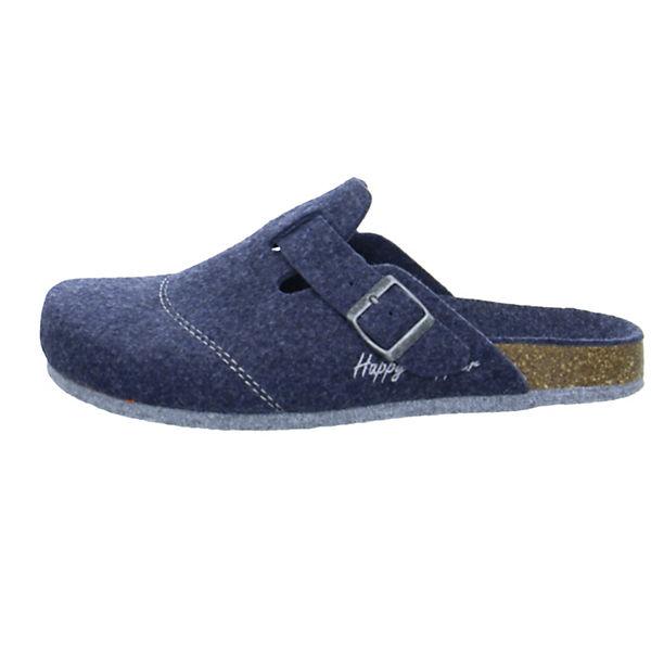 58 Happy Slipper Azul blau Pantoffeln zwqEg8w