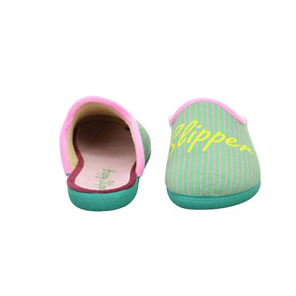 Happy Slipper Happy grün II Pantoffeln v5wfqUSyrw