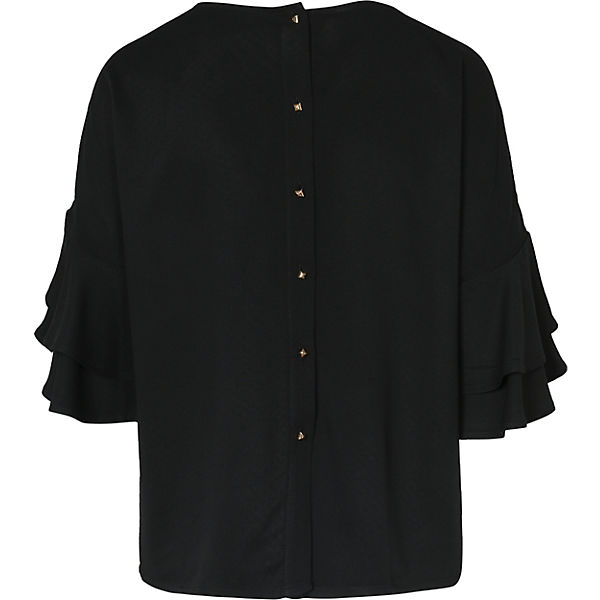 TAILOR schwarz TAILOR Blusenshirt TOM TOM Blusenshirt 5czH8nxSn