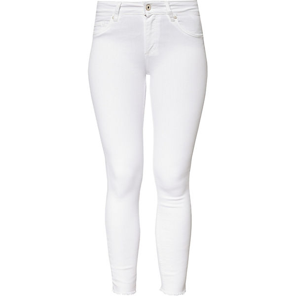 ONLY Skinny weiß Jeans ONLY Jeans zqY7x0C
