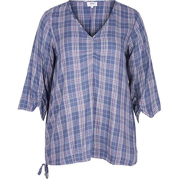 Bluse blau Zizzi Bluse blau blau Zizzi Bluse Zizzi Bluse Bluse Zizzi blau Zizzi UHqw4qg