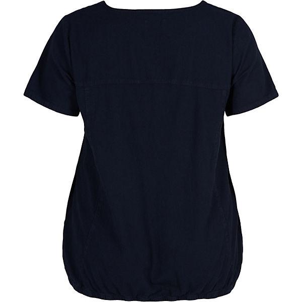 Blusenshirt dunkelblau Zizzi Zizzi dunkelblau Zizzi Blusenshirt dunkelblau Zizzi Blusenshirt 8Hnwq6IO