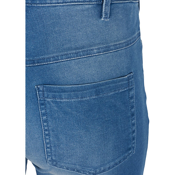 Jeansshorts Emily denim Zizzi light Slim blue wpdxxOq5