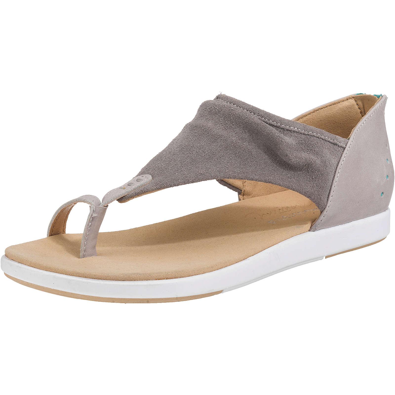 EMU Australia Yarra T-Steg-Sandalen hellgrau Damen Gr. 42 jetztbilligerkaufen