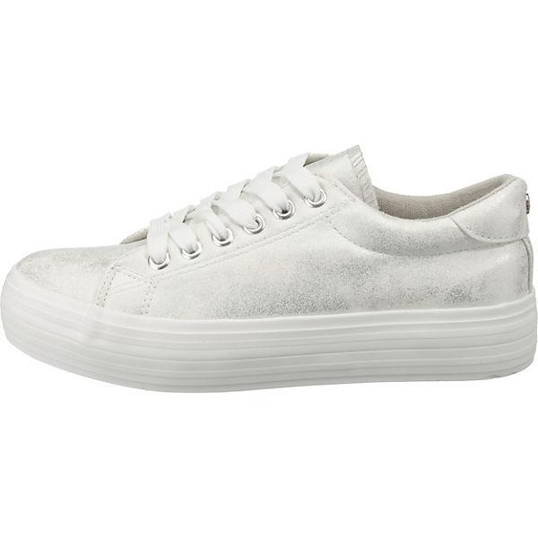 SuperCracks Sneakers Sneakers Sneakers Low silber SuperCracks silber Low SuperCracks Low 65Y07q