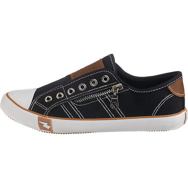 Sneakers Low SuperCracks Sneakers SuperCracks schwarz qzUUPOWwF