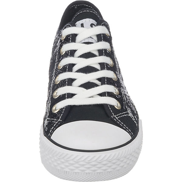 Low Sneakers schwarz S I H qTA0Sn