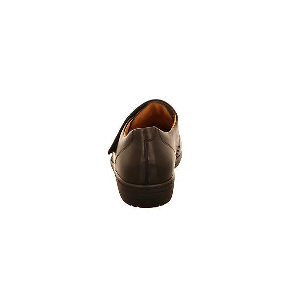 Ganter, Komfort-Halbschuhe, schwarz schwarz schwarz   a4cb0b