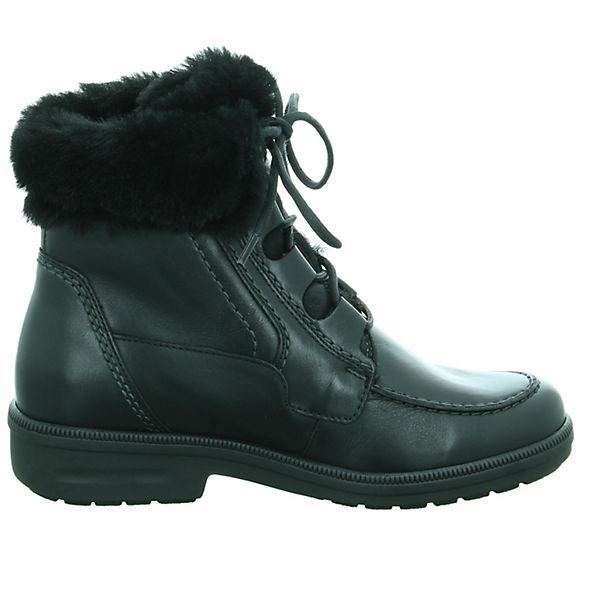 Ganter Schnürstiefeletten schwarz  Gute Qualität beliebte Schuhe