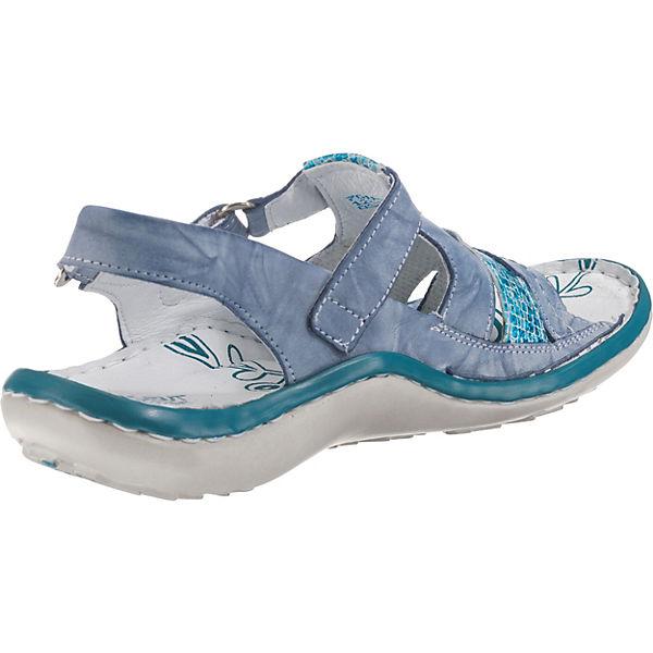 Krisbut, Klassische Sandaletten, Sandaletten, Klassische blau   05a4b1