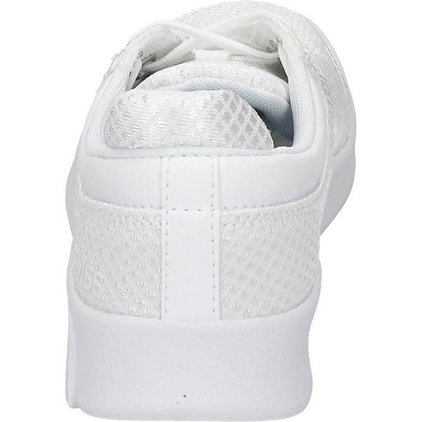 K-SWISS, Sneakers Low, weiß beliebte  Gute Qualität beliebte weiß Schuhe bf1d5c