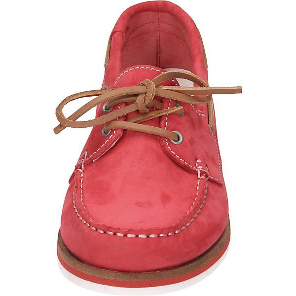 Tamaris Bootsschuhe rot