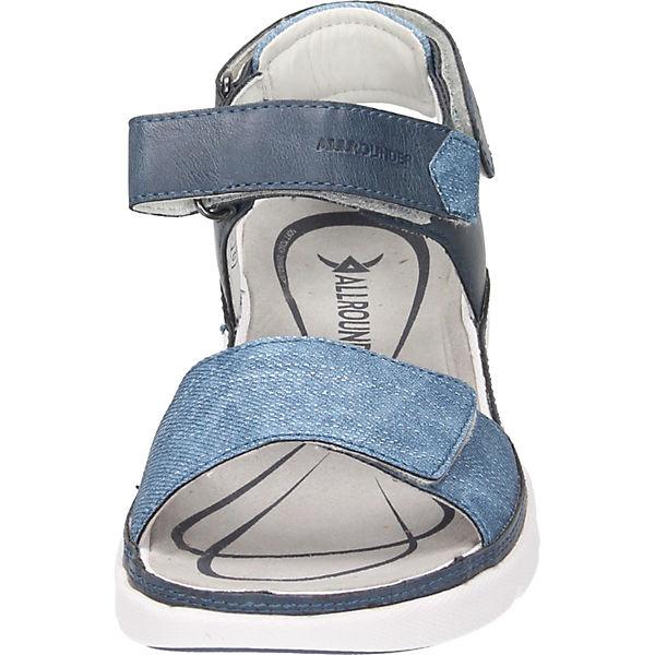 ALLROUNDER BY  MEPHISTO, Klassische Sandalen, blau  BY Gute Qualität beliebte Schuhe dc2894