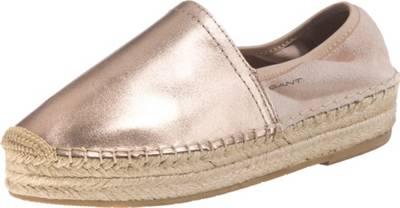 GANT Footwear Damen Capri Espadrilles, Pink (Rose Gold), 36 EU